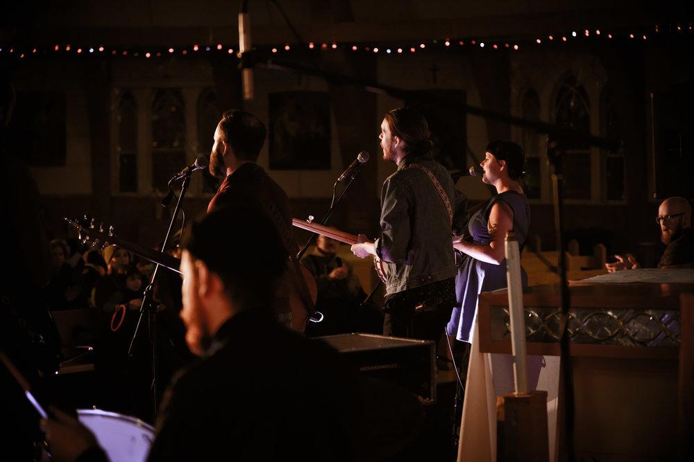 At the Igloo Church in Inuvik - Tony Devlin