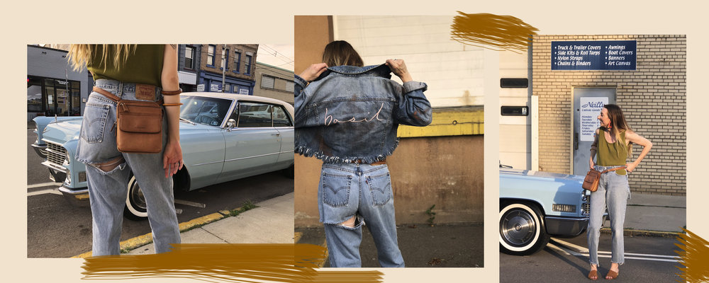 Shop Michelle's lewk:  jeans ,  tank