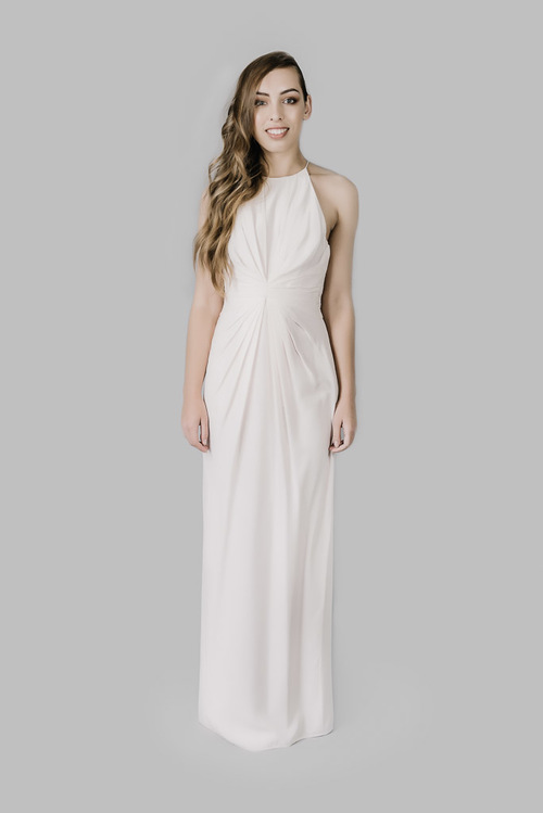 Silk Ray Long Dress - Dress Hire | That Dress For Hire
