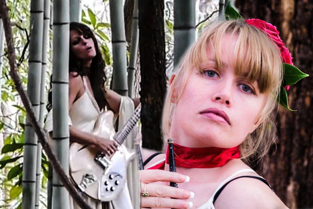 Sophia Magdalena drummer for Lily Herne