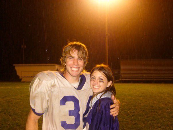 Mr. Good and I our Senior year of high school <3