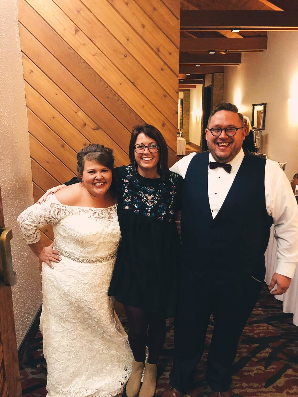 - -I got to see one of my oldest friends get married!