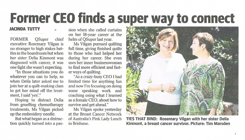 Courier Mail Brisbane 14 September 2016