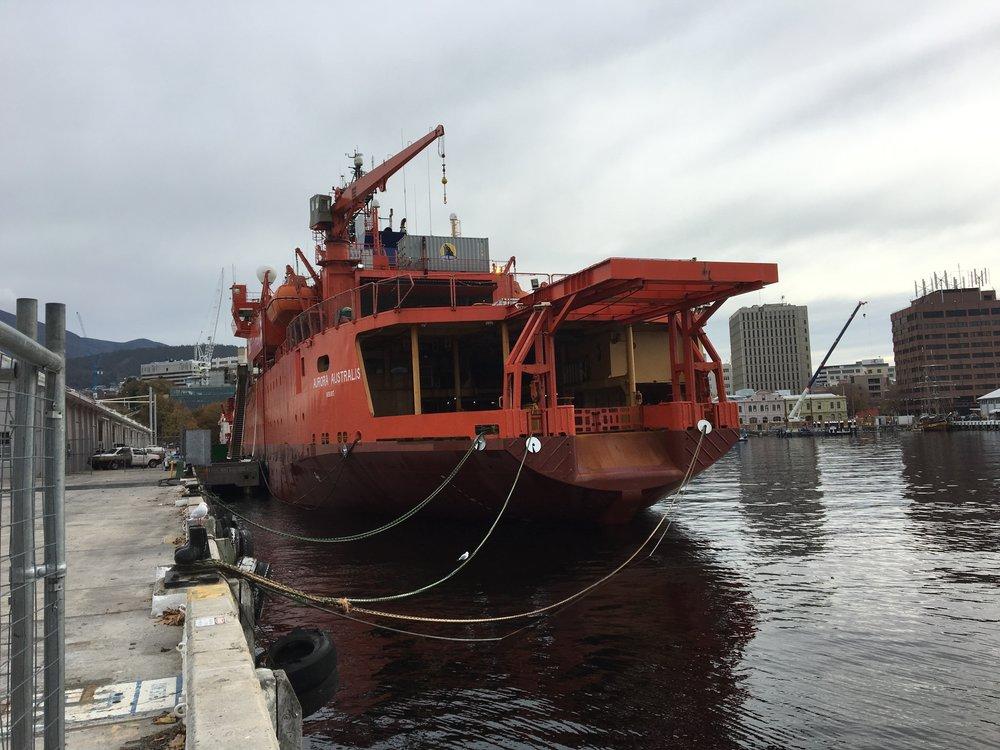 Hobart Hafen