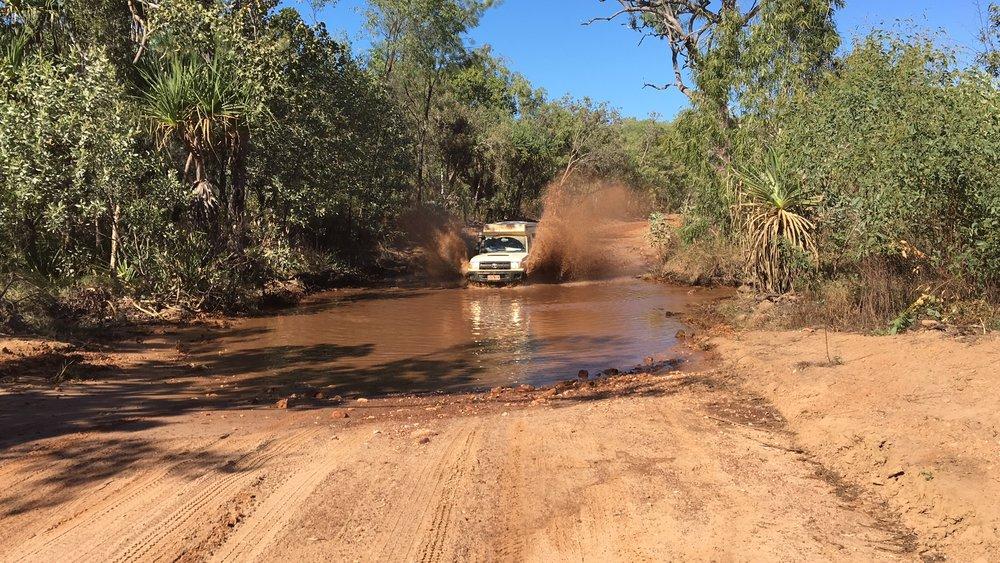 4WD driving fun