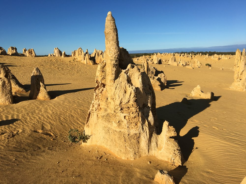 The Pinnacles rock formations