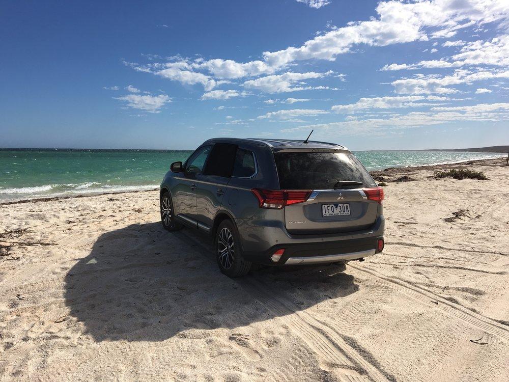 Fahrspaß am Strand