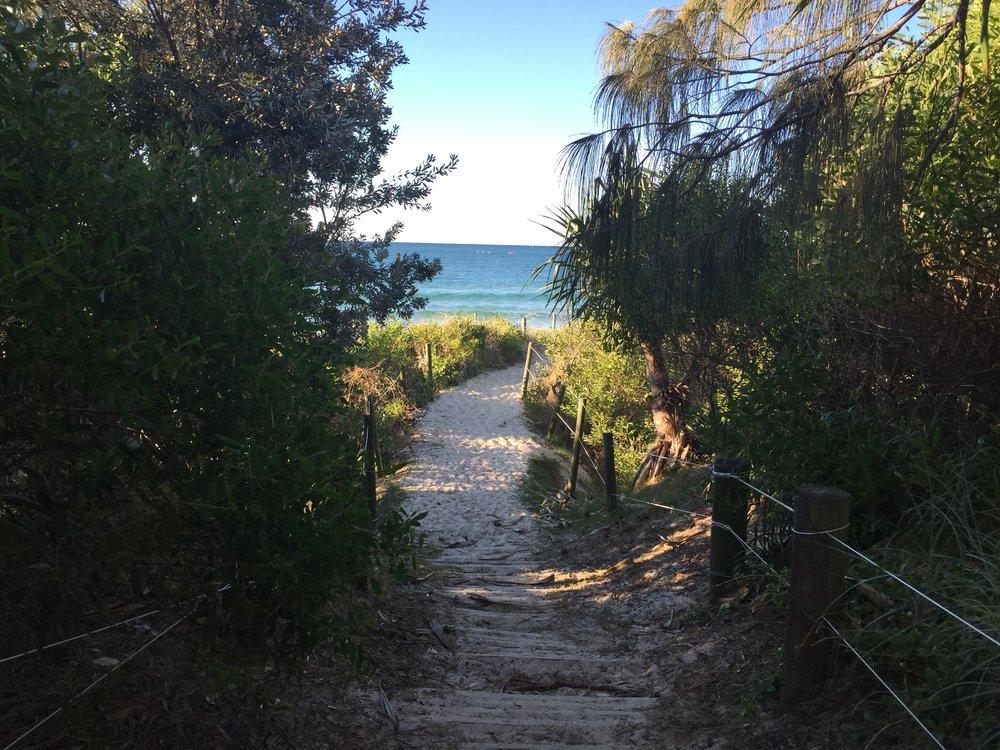 Beach Byron Bay