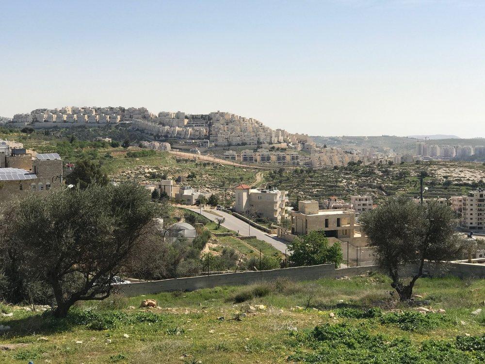 Aussicht über Bethlehem