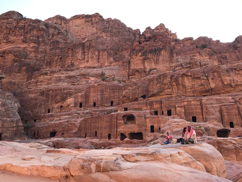 The Ancient city of Petra Bedouin.jpg