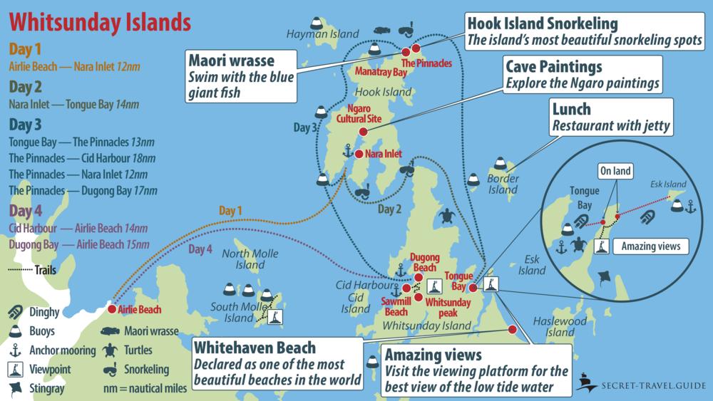 Whitsunday Map