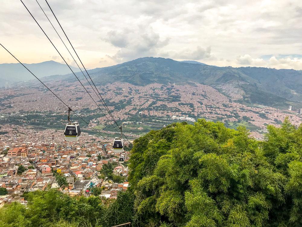 Cable car Medellín
