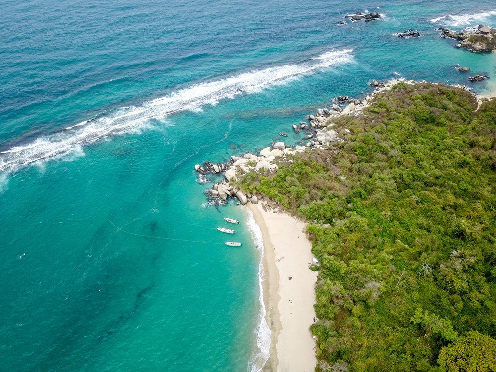 Second beach behind the main beach of Cabo San Juan