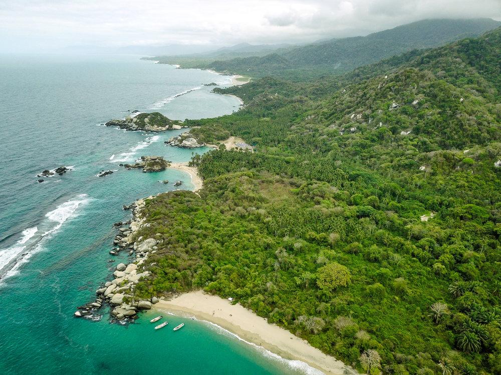 Tayrona National Park beach.jpg