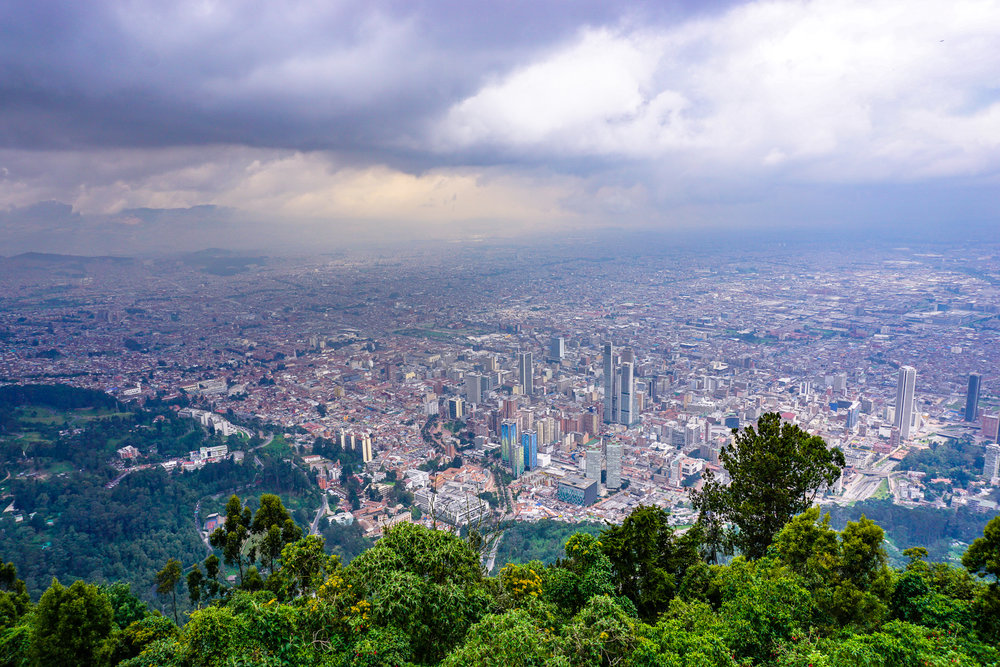 View from Monserrate Mountain