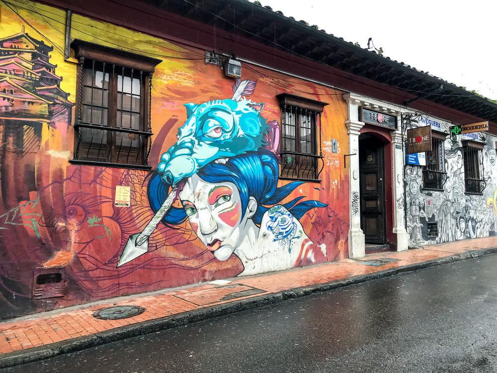 Graffiti Candelaria area