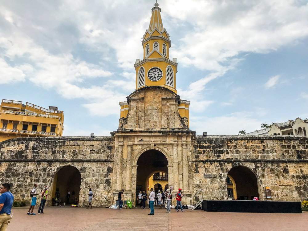 Cartagena city gate.jpg