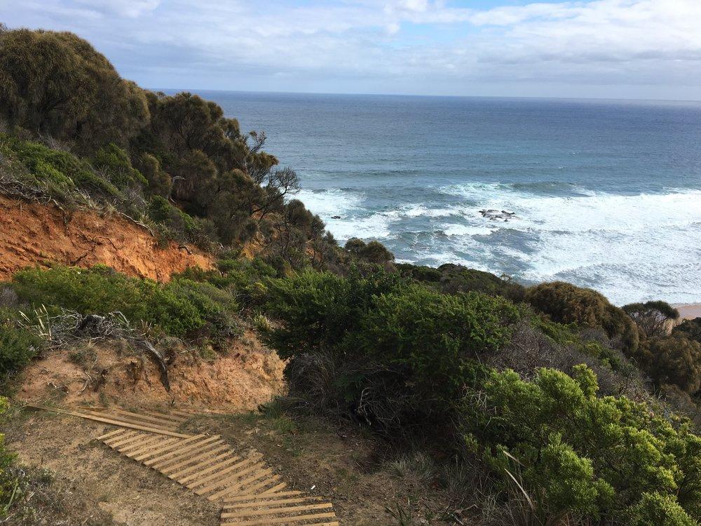 Trail to Wrecks Beach