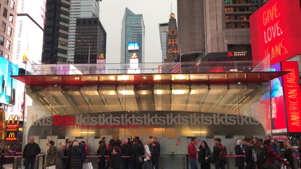 TKTS office in Times Square