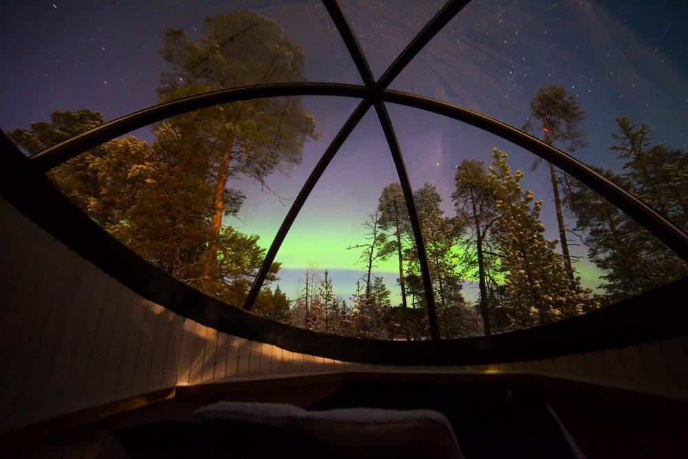 Nellim Aurora Bubble
