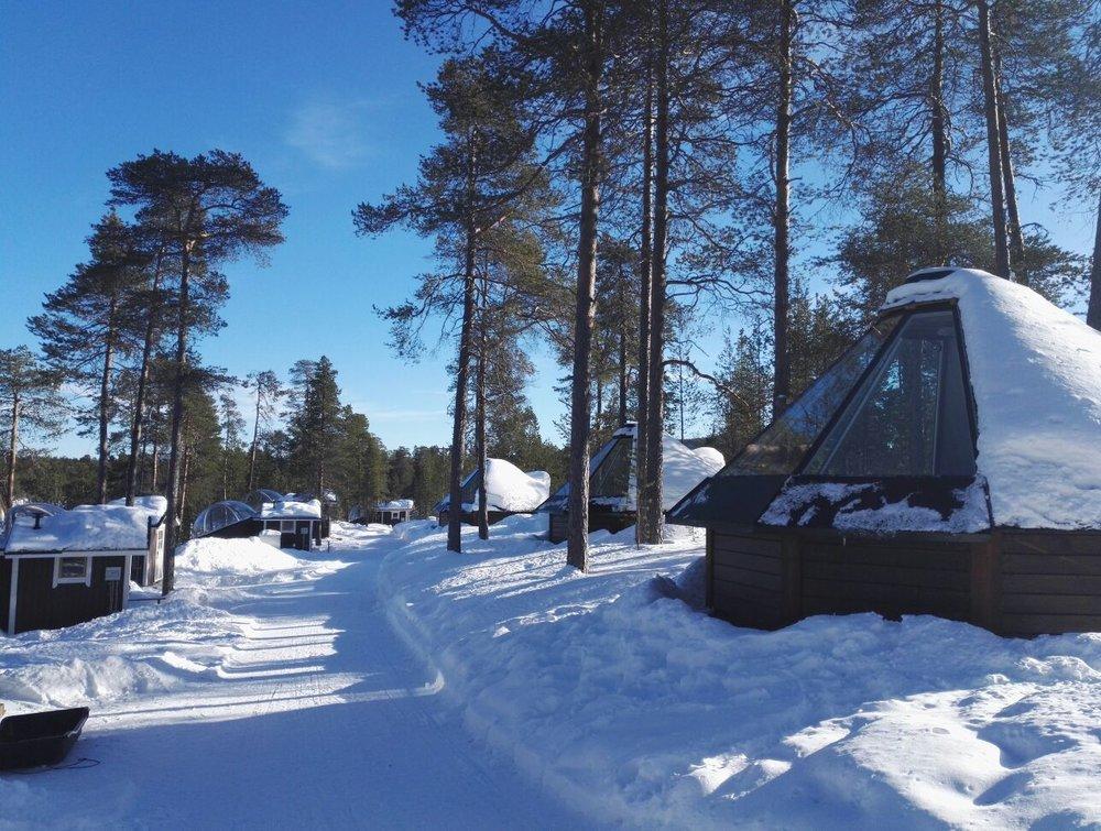 Nellim Wilderness Hotel - Aurora Kota Huts