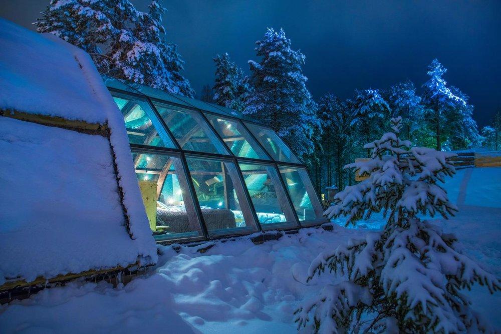 Lapland Igloo Hotel Ilveslinna