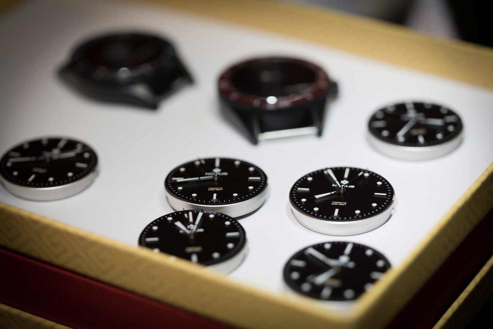 Nodus Trieste dial quality control