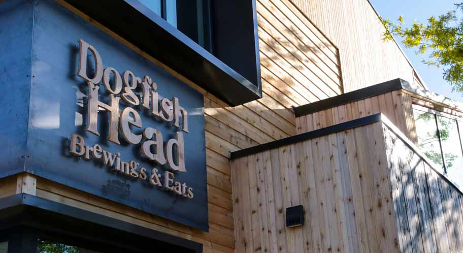 The original Dogfish Head restaurant/brewery, opened in 1995 and still in operation. Photo credit: dogfish.com