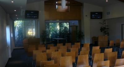 pinaroo cemetery chapel - av system
