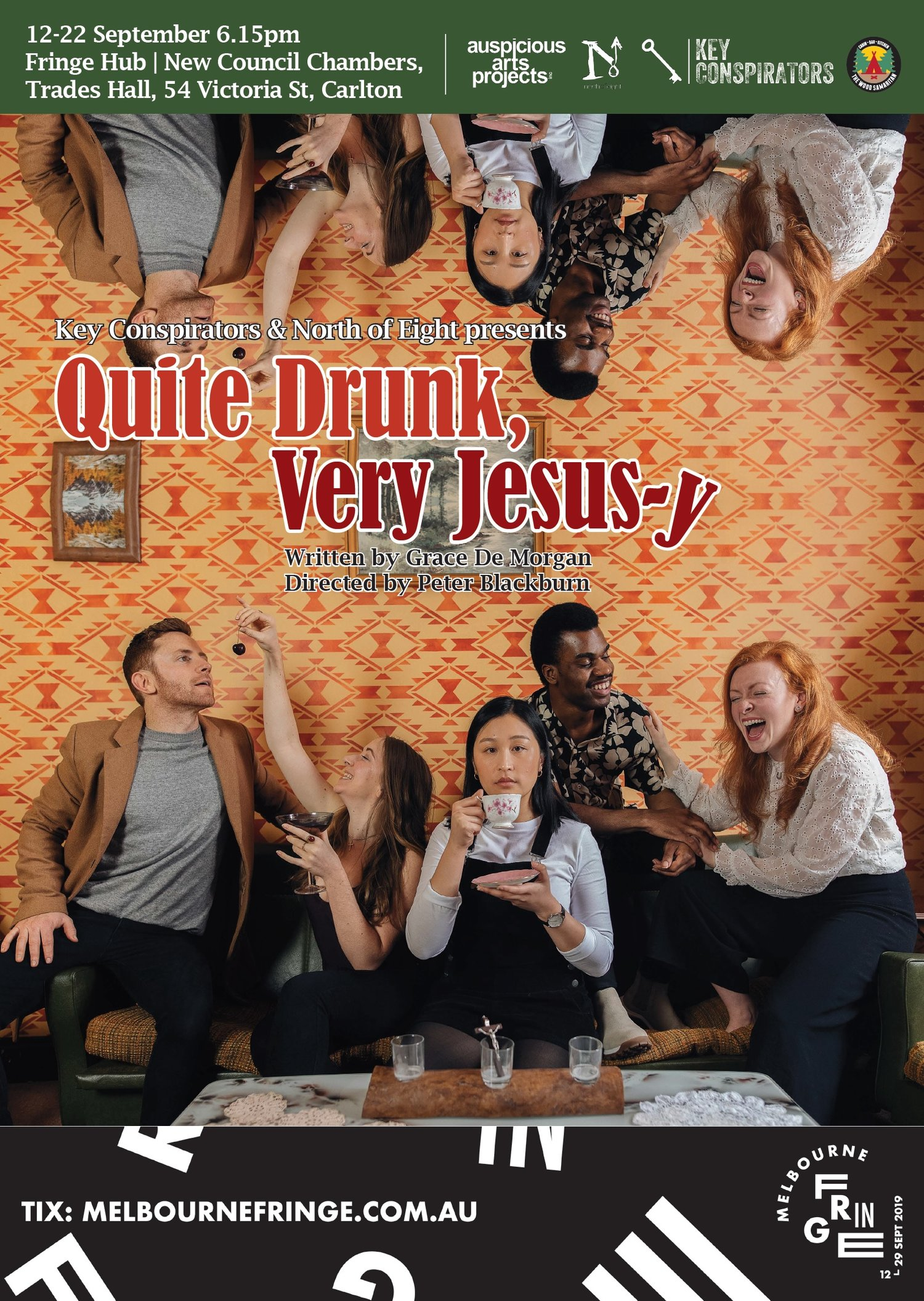 Quite Drunk, Very Jesus-y by Grace De Morgan —