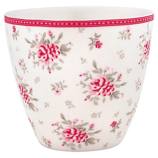 "Latte Cup ""Flora White"" von GREENGATE"