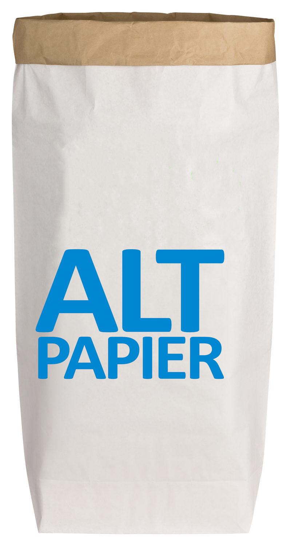 """PaperBag """"Altpapier"""" von 17;30"""