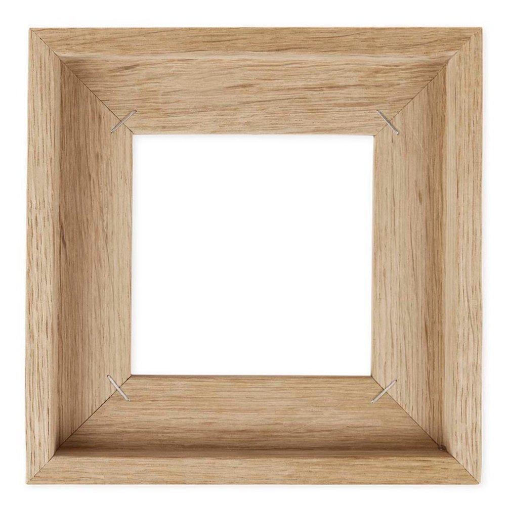 Rahmen aus Holz für die Kachelbilder von STORYTILES