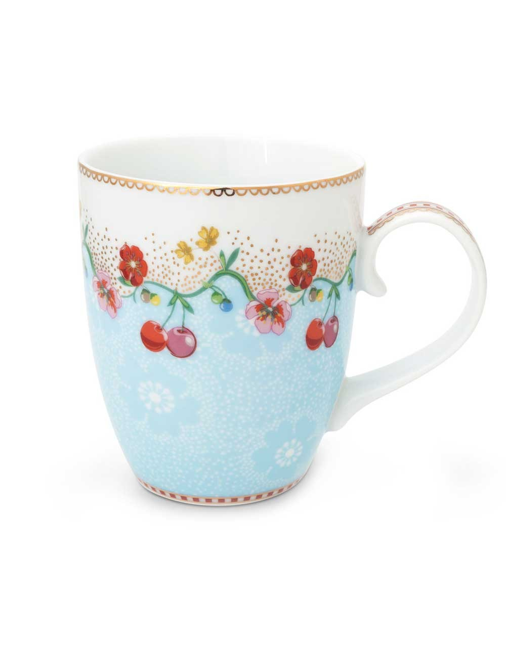 "Becher ""Cherry"" blau, PIP STUDIO"