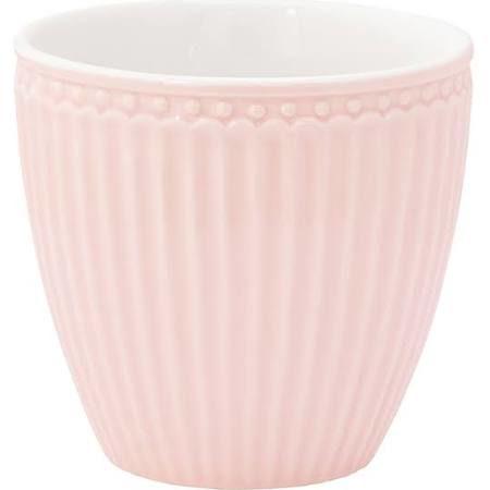 """Latte Cup Becher """"Alice Pale Pink"""" von GREENGATE"""
