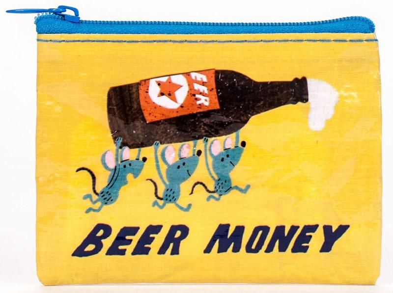 """Geldbörse """"Beer Money"""" von BLUE Q"""