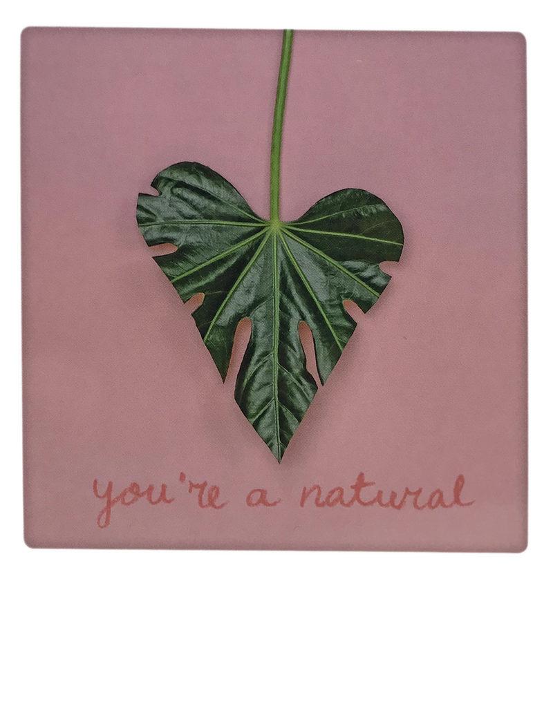 "Postkarte ""You´re a natural"" von PICKMOTION"