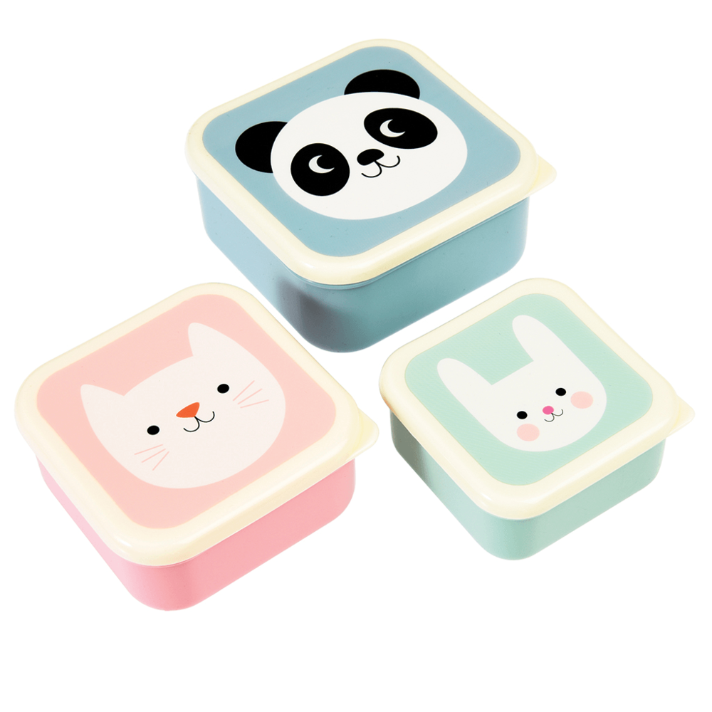 "Snack-Dosen ""Miko, Cookie & Bonnie"" von REX LONDON"