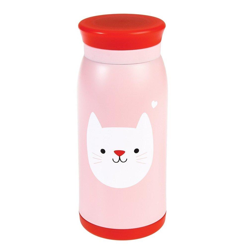 """Thermosflasche """"Cookie The Cat"""" von REX LONDON"""