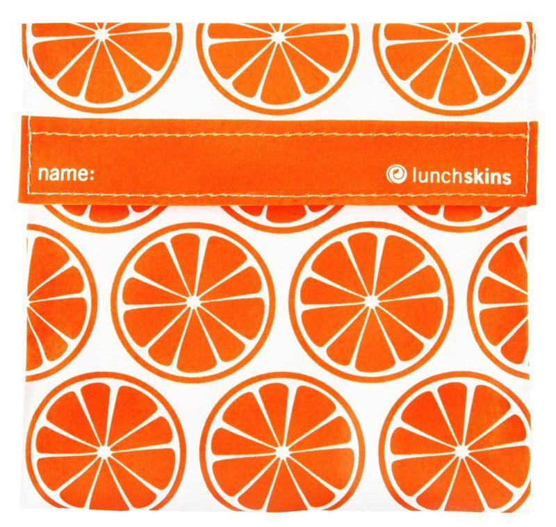 """Sandwichtüte """"Orange Tangerine"""" von LUNCHSKINS"""