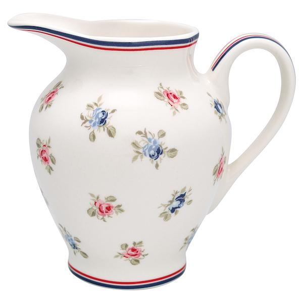 """Milchkännchen aus Porzellan """"Hailey White"""", 300ml"""
