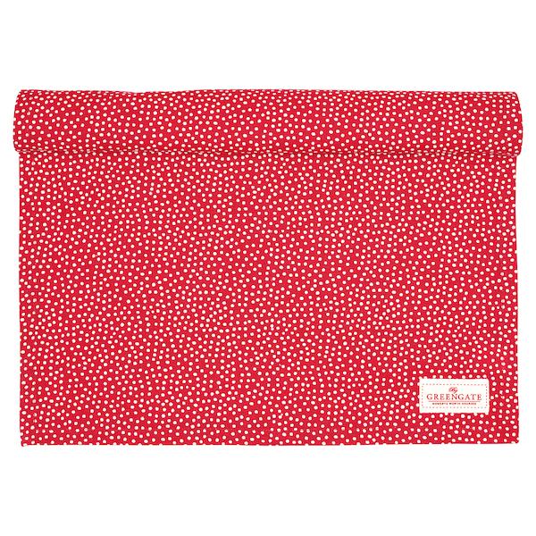 """Tischläufer """"Dot Red"""", 45x140cm"""