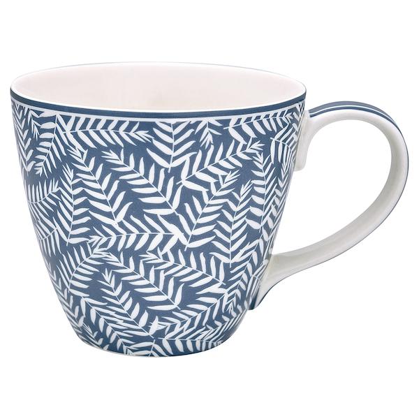 """Tasse aus Porzellan mit Henkel """"Milla Dark Blue"""""""