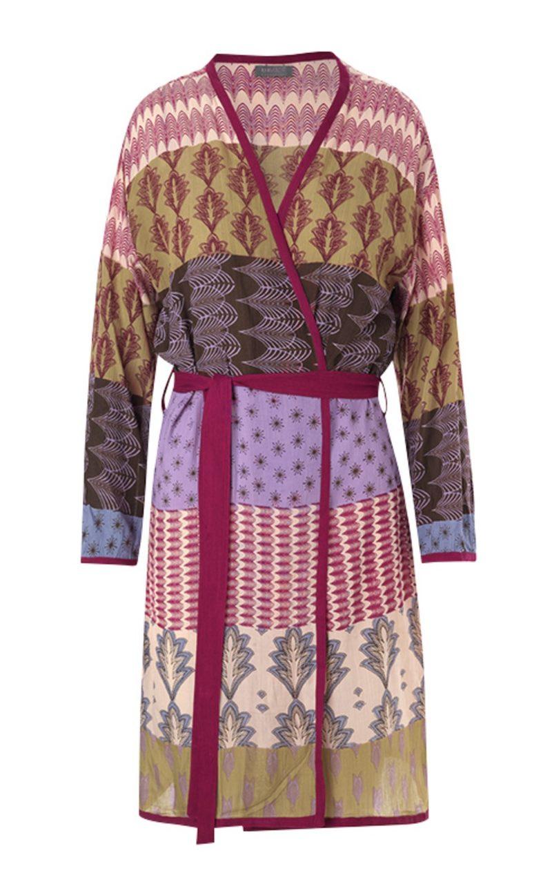 "SALE: Kimono ""Feral Bordeaux"" von UNMADE COPENHAGEN"