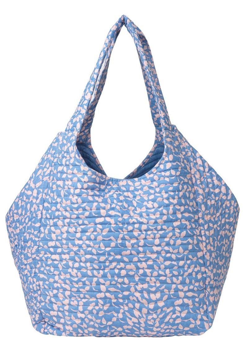 """Stofftasche """"Mansion Flourish"""" in Lichen Blue"""