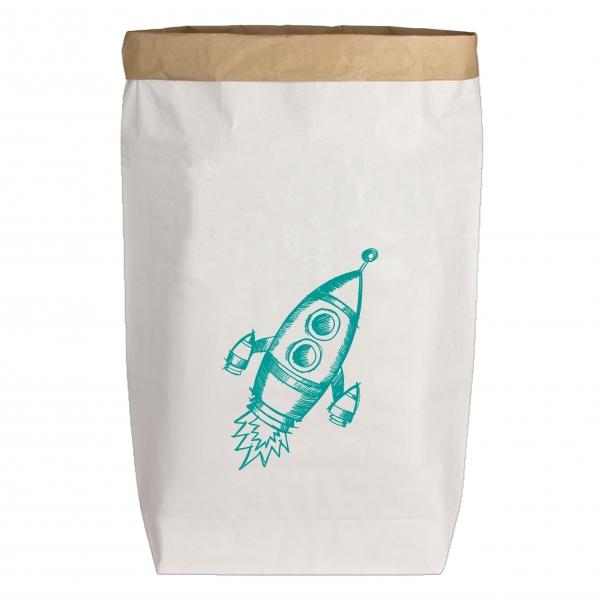 """PaperBag groß """"Rakete"""", Gr. L"""