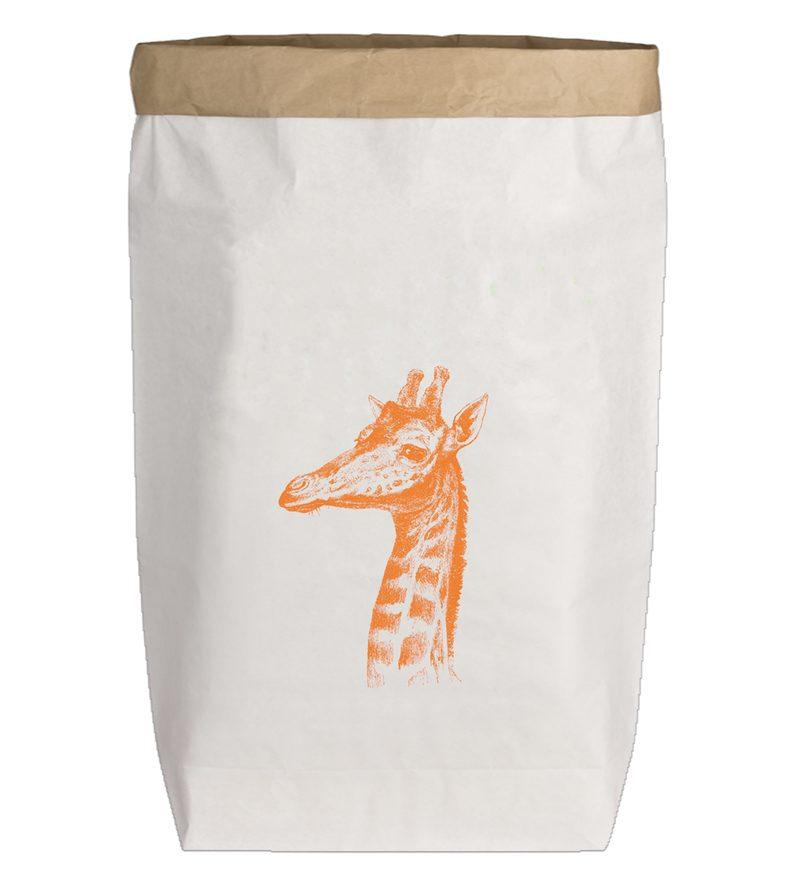 """PaperBag groß """"Giraffe"""", Gr. L"""