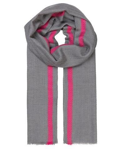 """Schal aus Wolle """"Gabrielle"""" in pink"""