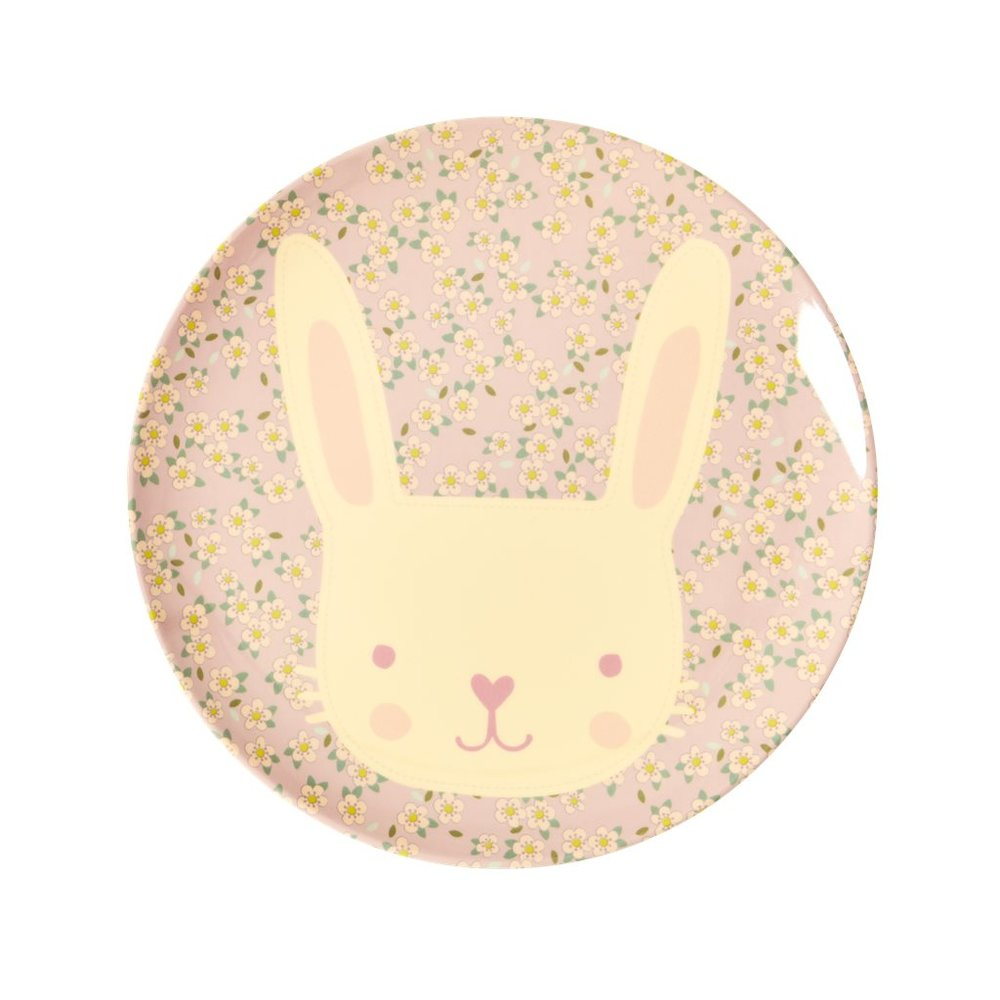 "Kinderteller ""Animal Print - Hase"" von RICE"