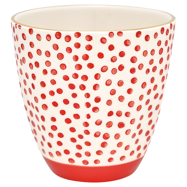 "Latte Cup ""Dot Red"" von GREENGATE"